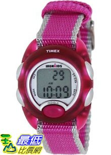 [美國直購 ShopUSA] Timex 手錶 Children's Iron Kids T7B980 Pink Nylon Quartz Watch with Digital Dial