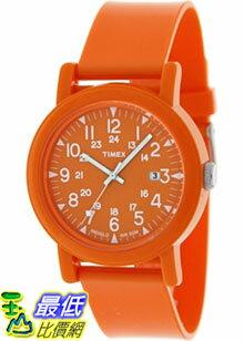 [美國直購 ShopUSA] Timex 手錶 Men's Camper T2N879 Orange Plastic Analog Quartz Watch with Orange Dial