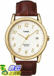 [美國直購 ShopUSA] Timex 手錶 Men's Core T2M441 Brown Calf Skin Analog Quartz Watch with Beige Dial