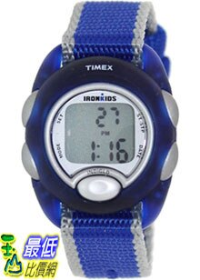 [美國直購 ShopUSA] Timex 手錶 Children's Iron Kids T7B982 Blue Nylon Quartz Watch with Digital Dial