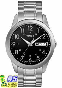 [美國直購 ShopUSA] Timex 手錶 Men's Elevated Classics T2M932 Silver Stainless-Steel Quartz Watch with Black Dial