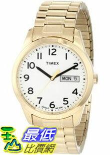 [美國直購 ShopUSA] Timex 手錶 Men's Elevated Classics T2N064 Gold Stainless-Steel Quartz Watch with White Dial