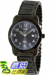 [美國直購 ShopUSA] Timex 手錶 Men's Elevated Classics T2P135 Grey Stainless-Steel Analog Quartz Watch with Black Dial