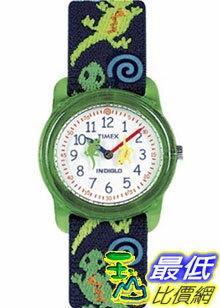 [美國直購 ShopUSA] Timex 手錶 Children's Kids T72881 Black Cloth Quartz Watch with White Dial