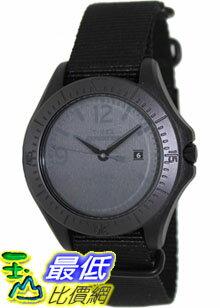 [美國直購 ShopUSA] Timex 手錶 Men's Expedition T49933 Black Nylon Analog Quartz Watch with Black Dial