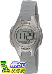 [美國直購 ShopUSA] Timex 手錶 Women's T5K085 Grey Resin Quartz Watch with Digital Dial #1681866578