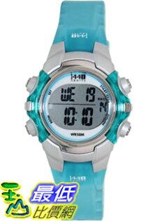 [美國直購 ShopUSA] Timex 手錶 Women's T5K460 Blue Resin Quartz Watch with Digital Dial #1681894826