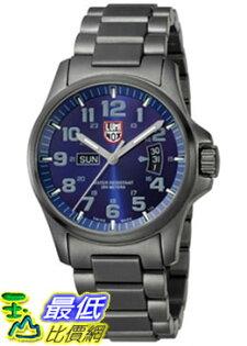 [美國直購 ShopUSA] Luminox Men's Atacama Field Day-Date 1824 Grey Stainless-Steel Quartz Watch with Blue Dial #1681875506 $22512