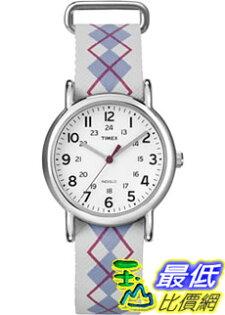 [美國直購 ShopUSA] Timex 中性男女通用錶  Weekender T2N918 Blue Nylon Quartz Watch #1681891751