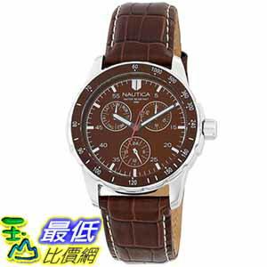 [美國直購 ShopUSA] Nautica Men's Leather 手錶 N09550G $3296