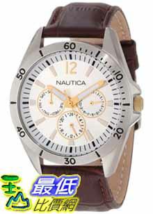 [美國直購 ShopUSA] Nautica Men's Leather 手錶 N12632G $3011