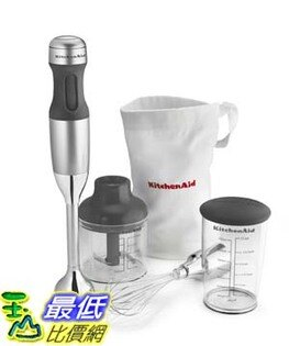 [美國直購] 攪拌機 KitchenAid KHB2351CU KHB2351 3 Speed Hand Blender Contour Silver