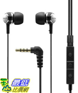 [美國直購 USAShop] Denon 入耳式耳機 AH-C260R Mobile Elite In-Ear Headphones with 3-Button Remote and Microphone (Black)