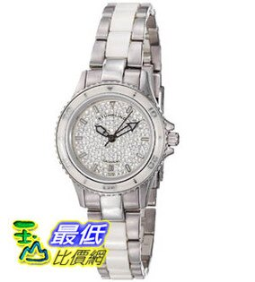 [美國直購禮品暢銷排行榜] Stuhrling Original 手錶 Women's 250.12EP2 Leisure Ceramic Astera Swiss Made Quartz $5299