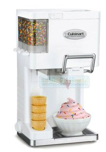 [美國直購] 冰淇淋機 Cuisinart ICE-45 Mix It In Soft Serve 1-1/2-Quart Ice-Cream Maker Color: White