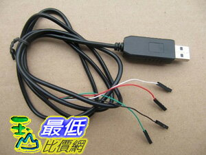[美國直購 ShopUSA] PL2303HX 電纜模塊轉換器 USB to TTL to UART RS232 COM Cable module Converter  $577