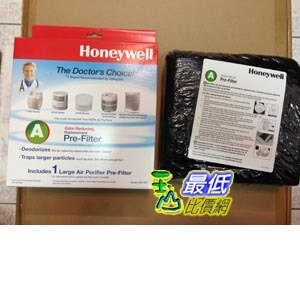 [原廠濾網] Honeywell 38002 清淨機活性碳濾網 Honeywell Carbon Air Purifier Replacement Pre-Filter, HRF-AP1/Filter_TA0