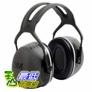 [現貨供應 重度噪音環境用] 3M PELTOR (標準式) X5A 防音耳罩 X-Series Over-the-Head Earmuffs, NRR 31 dB, Black X5A TB12