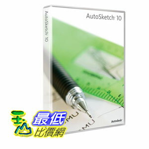 [103美國直購] 軟體 Autodesk AutoSketch 10 $10321