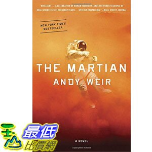 [美國直購] 2015 Amazon 暢銷書排行榜 The Martian Paperback 0553418025 $577