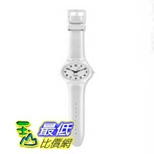 [美國直購 ShopUSA] Swatch 手錶 Women's GW151 Quartz Plastic White Dial Watch  $1711
