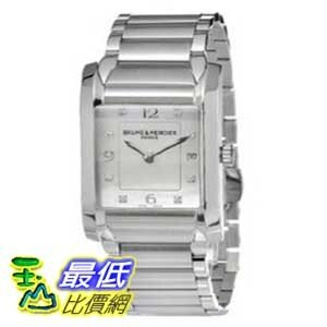 [美國直購 ShopUSA] Baume & Mercier 手錶 Women's MOA10050 Quartz Stainless Steel Mother-of-Pearl Dial Watch $75899