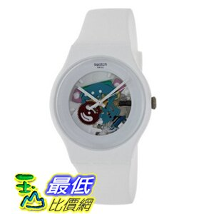 [美國直購] Swatch 手錶 White Lacquered Ladies Watch SUOW100