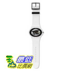 [美國直購 ShopUSA] Swatch Originals Black Ghost Skeleton Dial Plastic 男士手錶 SUOK107 $2297