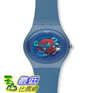 [美國直購 ShopUSA] Swatch 手錶 Men's Originals SUON102 Blue Plastic Swiss Quartz Watch with Blue Dial $2877