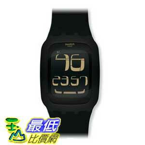 [美國直購 ShopUSA] swatch 手錶 Men's SURB100 Quartz Anti-Reflective Sapphire Crystal Black Watch $5491