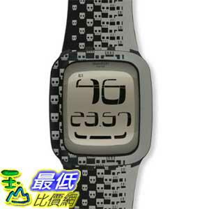 [美國直購 ShopUSA] Swatch 手錶 Men's Touch SURB101 Black Rubber Quartz Watch with Digital Dial $5197