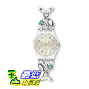 [美國直購 ShopUSA] Swatch 手錶 Women's Originals LK292G Silver Stainless-Steel Swiss Quartz Watch with Beige Dial $2877
