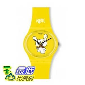[美國直購 ShopUSA] Swatch 手錶 GJ130 Women's Unisex Ski Instructor Swiss Made Yellow Plastic Watch $2533