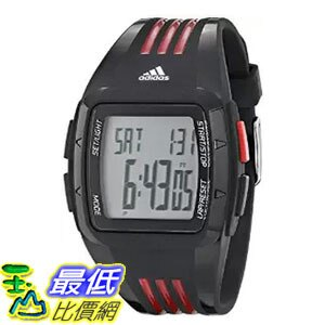 [104美國直購] adidas Unisex ADP6098 Digital Black Watch 多功能方形電子錶 $2280