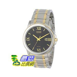 [美國直購 ShopUSA] Citizen 手錶 Eco-Drive Black Dial Two Tone Stainless Steel Mens Watch BM7264-51E $5069