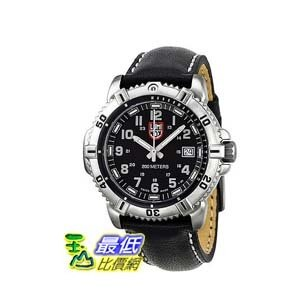 [美國直購 ShopUSA] Luminox Colormark 手錶 Black/Grey Dial Steel Black Leather Ladies Watch A.7251 $14897