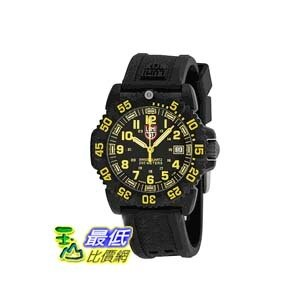 [美國直購 ShopUSA] Luminox EVO Navy Seal 手錶 Black Dial Black Polyurethane Strap Unisex Watch SU7055 $7687