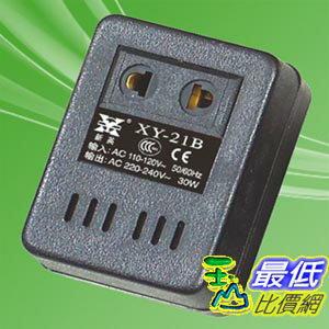 [103 玉山網] 中國和CE 安規認證25W 插座型 110V轉220V 變壓器 轉換 變壓 低電壓轉換高電壓的利器 _G602