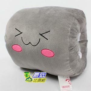 _a@[103玉山最低比價網] 可愛 造型 暖手枕 腰枕 暖手抱枕 午睡枕 靠枕 暖手套 灰色 (784261_Z47) $170