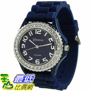 [美國直購 USAShop] Geneva Platinum 手錶 Women's Watch 6886.Navy.Star _mr $1017