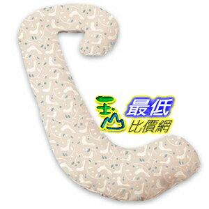 [美國直購 ShopUSA] 孕婦枕套 非枕頭 Leachco Snoogle Replacement Cover, Birds/Blue Leaf B005DSA34C