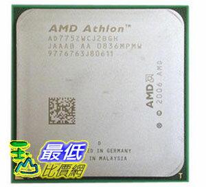 [104 玉山網 裸裝 二手] AMD雙核64 X2 7750 CPU 黑盒版散片不鎖倍頻