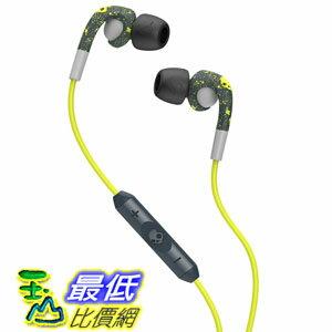 [104 美國直購] Skullcandy Fix Earbuds with Mic3 - Dark Gray/Light Gray/Hot Lime SCS2FXGM-386