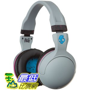 [104 美國直購] Skullcandy Hesh 2.0 Headphones with Mic Gray/Cyan/Black, One Size