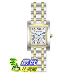 [美國直購 ShopUSA] Invicta Cuadro Silver Dial Two-tone Stainless Steel Mens Watch 14698