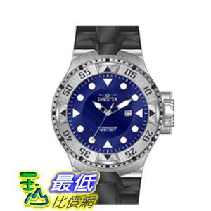 [美國直購 ShopUSA] Invicta Excursion Blue Dial Black Silicone 男士手錶 14435