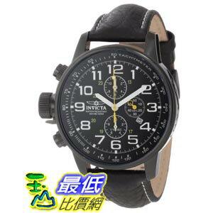 [美國直購 ShopUSA] Invicta Lefty Chronograph Black Dial Black PVD Stainless Steel 男士手錶 3332