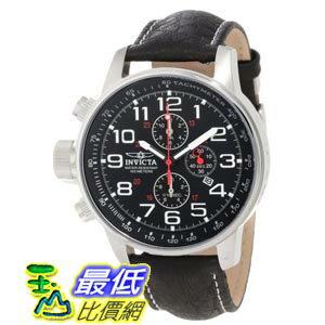 [美國直購 ShopUSA] Invicta Lefty Terra Military Chronograph Black Dial Stainless Steel 男士手錶 2770