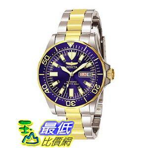 [美國直購 ShopUSA] Invicta Sapphire Diver Two Tone Stainless Steel Mens Watch 7046