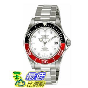 [美國直購 ShopUSA] Invicta 手錶 Pro Diver Silver-Tone Mens Watch 9404